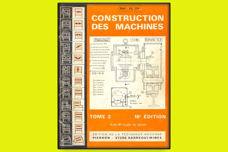 Construction des Machines Tome 2 en PDF