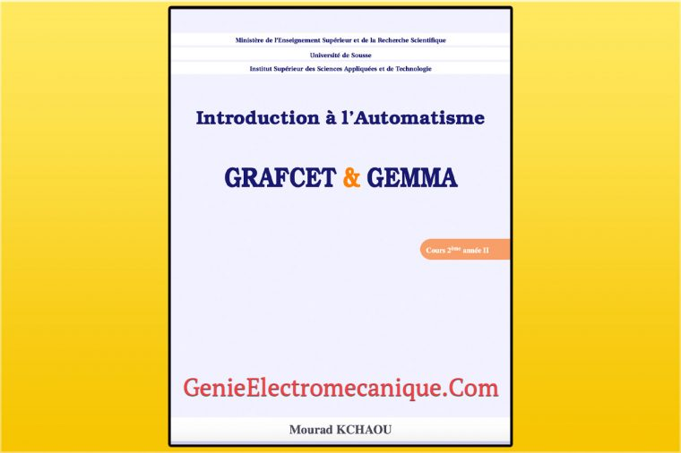 Introduction à l'Automatisme GRAFCET & GEMMA