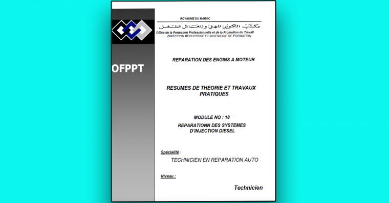 REPARATIONN DES SYSTEMES D'INJECTION DIESEL en PDF