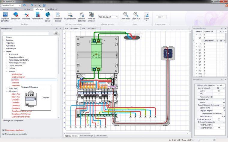 Logiciel Schémaplic 6 Pour Les Circuits Electriques et Pneumatiques