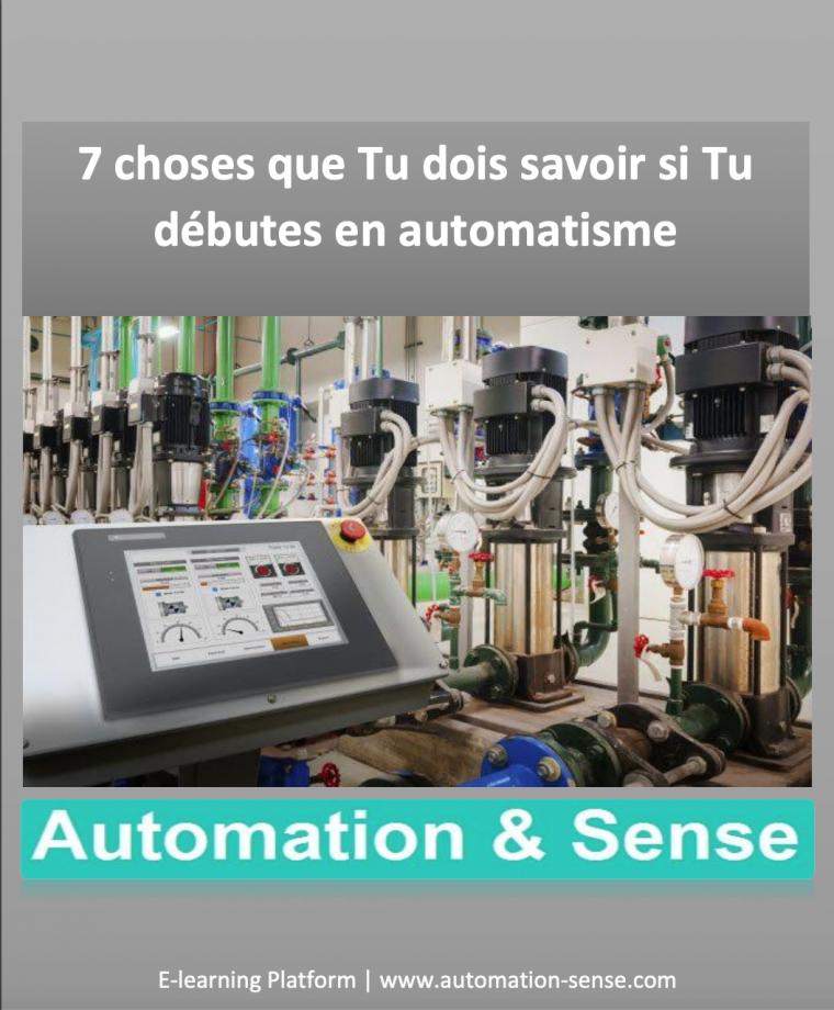 7 choses que tu dois savoir si tu débutes en automatisme en PDF