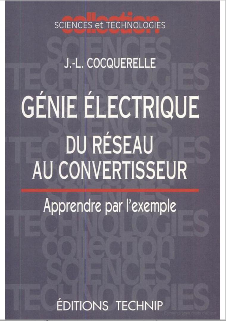 Génie Électrique convertisseur en PDF