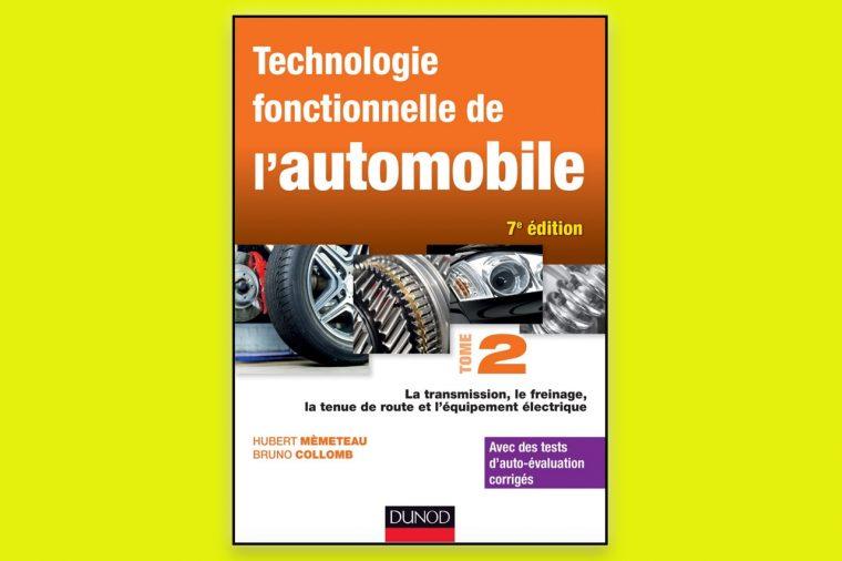 technologie fonctionnelle de l'automobile- Tome 2 pdf