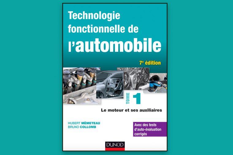 Livre Technologie fonctionnelle de l'automobile – Tome 1.pdf