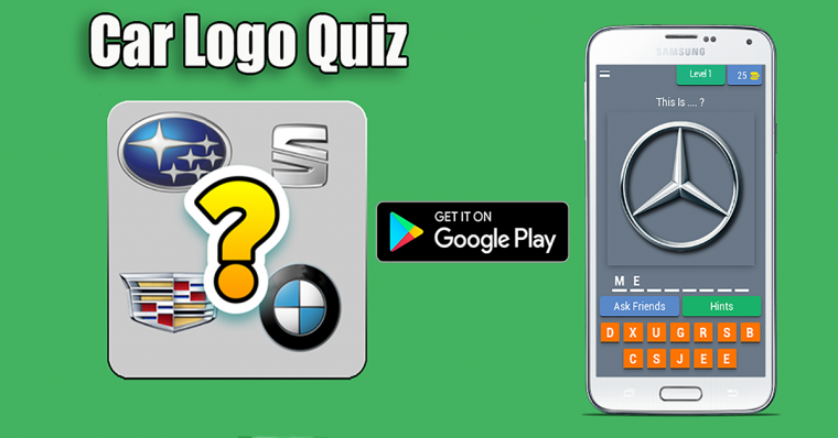 Car Logo Quiz : App Android