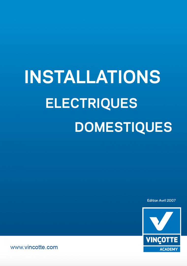 Installation électrique domestique en PDF
